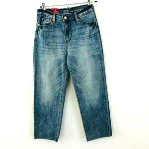NWT! Levi's Slim Crop Raw Hem Jeans